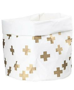 Buy General Eclectic Large Washable Paper Bag (White) online and save! Yes, you read correctly, this is a washable paper bag! This neat storage solution has so many uses and looks oh-so stylish. Desk Tidy, Gold Cross, Large Bags, Storage Solutions, Bean Bag Chair, Paper, Rooms, Leather, Crosses