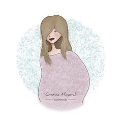 Nueva #ilustracion en el blog.     https://cristinamayoral.wordpress.com/2015/10/16/rebuscando/      #CristinaMayoral #CristinaMayoralilustracion