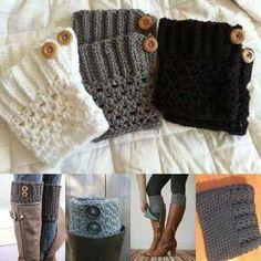 Crochet Scarf Tutorial, Crochet Boot Cuff Pattern, Crochet Patterns, Crochet Boots, Knit Crochet, Hooded Scarf Pattern, Winter Headbands, Boot Cuffs, Knitting Socks