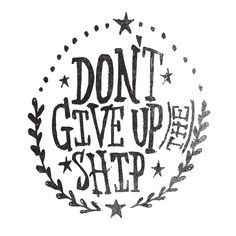 DON'T GIVE UP THE SHIP Framed Art Print by Matthew Taylor Wilson | Society6
