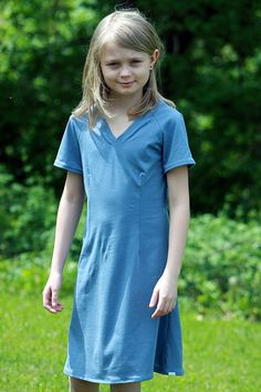 Tunica loves blue!This is a very elegant dress and its looks cool too! At the same time it provides room for the child move and play around, all d...