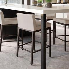 Bar Furniture, Furniture Deals, Metal Counter Stools, Kitchen Stools, Diy Kitchen, Kitchen Island, Kitchen Cabinets, Bar Stools For Sale, Bar Stool Seats