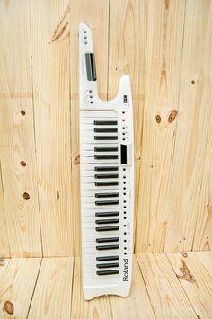Keytar Roland AX7 Discontinued Synth Midi by PioneerPress on Etsy, $600.00