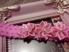 Infant Flower Lace Headband by Sammy Banany's Hair by iguania03, $4.99
