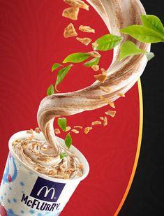 Red Tea Mcflurry Taiwan 红玉冰炫风 on Behance