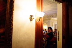 Bagpipe Entrance = Perfection | Loose Mansion | KC Weddings | Solar Photography