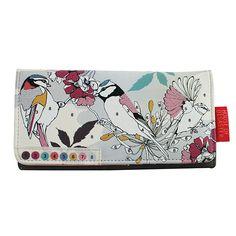 Colour Me Bird Wallet
