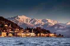 L'assolata #Belgirate dal centro del lago Maggiore ( #Verbania #Piedmont #Italy ) Foto di Walter Zerla
