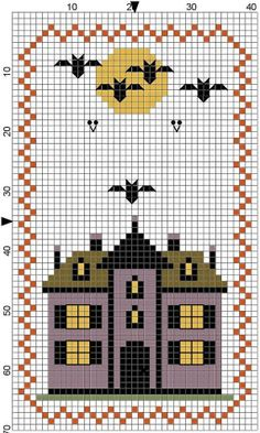House cross stitch.