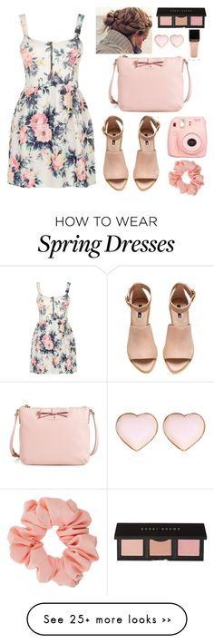 """""""pastel pink"""" by fashionistalove58 on Polyvore featuring Cameo Rose, H&M, Kate Spade, Bobbi Brown Cosmetics, Polaroid, River Island, Tom Ford, Miss Selfridge and Pink"""