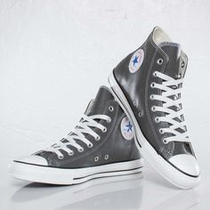 all star converse gray p5d1  leather converse all star