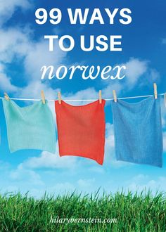99 different ways to use Norwex?! Fantastic! I can hardly wait to try some of these cleaning products.