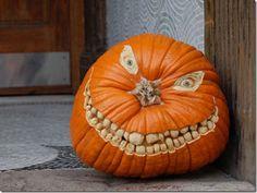 Great Pumpkin! #teeth #scary