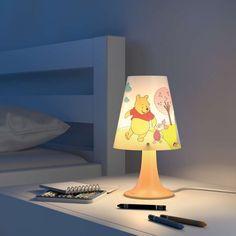 Verspielte Disney Tischleuchte Winnie Puuh