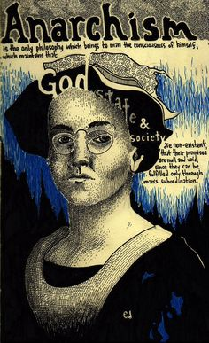 ★‿★ ★ #ANONYMISS ✰ೋ* Emma Goldman and the Anarchist's View