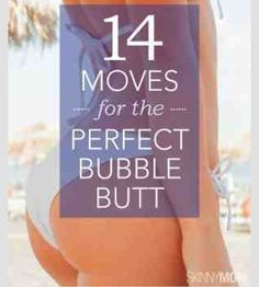 14 Moves To Get That Perfect Butt!!!!!(:  #Health #Fitness #Trusper #Tip