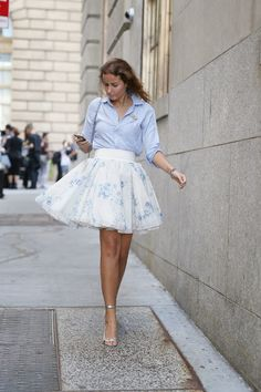 Parisienne: Would You Wear It? TULLE SKIRT