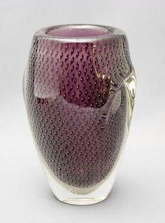 Art Glass vase by Armando Jacobino, Kumela