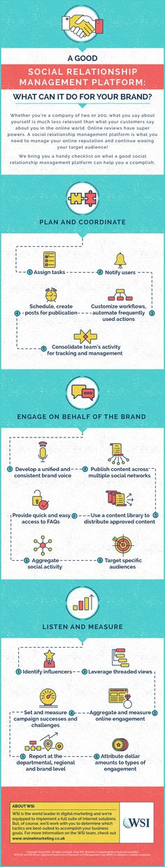 A Good Social Relationship Management Platform: What Can It Do For Your Brand - infographic