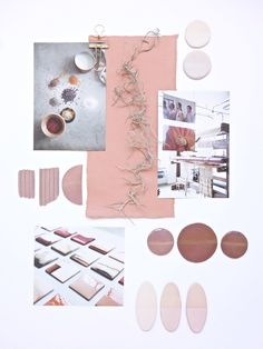My August Mood Board - Eclectic Trends #moodboard // pastels aesthetics