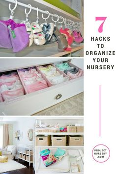Nursery Organization Ideas and Hacks - Project Nursery