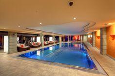 Our large swimming pool / at Parkhotel Beau Site zermatt Zermatt, Hotel Berghof, Switzerland Hotels, Beau Site, Indoor Pools, Hotel Reservations, 4 Star Hotels, Swimming Pools, Relax