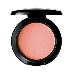 My new favorite blush! MAC's Melba blush. It's the perfect peach. I thought it would be too pale for my medium-tan skin but it is so highly-pigmented. Looks like you just got back from vacation.