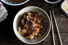 Recipe for Xi'an Famous Foods' Hot Rice Ribbons