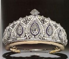 The Indian Tiara worn by HRH Duchess of Gloucester