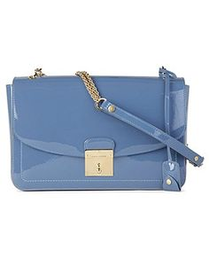 Marc Jacobs 1984 Patent Polly Cross Body Bag