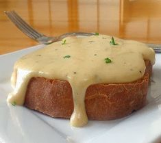 Welsh Rarebit...from the kitchen of One Perfect Bite courtesy of Alton Brown