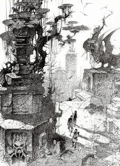 Visual Development from Atlantis