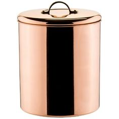 Old Dutch 4-qt. Copper Cookie Jar () (3,180 INR) ❤ liked on Polyvore featuring home, kitchen & dining and food storage containers