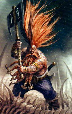 Dwarf punk #dwarf #rpg #d&d