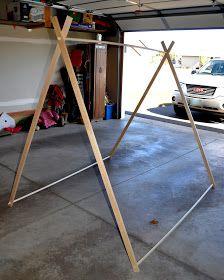 DIY Tent   Bright Forest: DIY Tent
