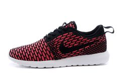 sale retailer 59cac 7ae6b 2015 Nike Roshe Run FlyKnit Mens Womens Red Black,Discount shoes,cheap  sneakers