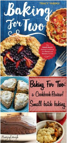 'Baking For Two' by Tracy Yabiku is full of sweet and savory small-batch recipes. This cookbook is perfect for small households and for those who want indulgent treats in smaller portions.