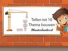 Tellen Tot 10 - Thema Bouwen - Kleuters - Rekenen by Sander Gordijn - Educational Games for Kids on TinyTap Online Games For Kids, Educational Games For Kids, Construction Theme, Too Cool For School, School Stuff, Computer Technology, Animated Cartoons, Math Skills, Good Company