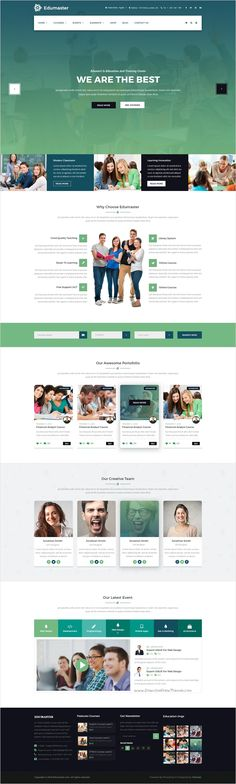 Edumaster is a wonderful #PSD #theme for #webdev Educational Institutions like Universities and Colleges, Online Courses / Online Learning #website download now➩ https://themeforest.net/item/edumaster-education-learning-psd-template/18475308?ref=Datasata