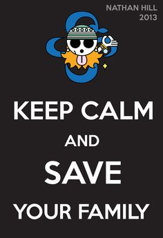 One Piece Keep Calm Nami 2Y
