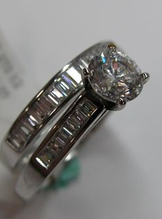 Custom ring from Gillis Jewelers. Follow for more custom jewelry, along with wedding and engagement photos!