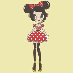 mini mouse by bigham