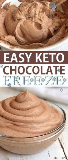 Easy Keto Chocolate Frosty (just like Wendy's) | This quick and easy low carb dessert recipe is my favorite keto treat so far! It's like a super thick shake but better! Ketogenic diet and atkins approved. Listotic.com ...o. Keep the portions small just enough to make you feel that you've had a treat without actually turning your snack into a binge. You'll need a lot ... Many people avoid temptation by keeping their mind on something they enjoy.Try surfing the web or catching up on what's new…