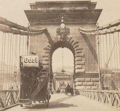 Ilyen is volt Budapest - a Széchenyi Lánchíd Budapest Hungary, Good Old, Brooklyn Bridge, Historical Photos, Old Photos, History, Architecture, Literature, Travel