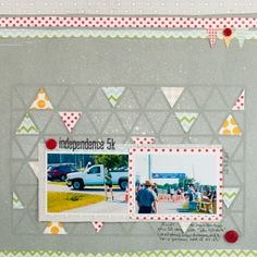 Layout by Melissa Stinson for Lily Bee Design #lilybee #lilybeedesign #scrapbook