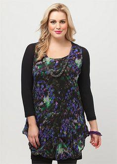 Plus Size Dresses Online | Dresses - Plus Size, Large Size Dresses for Australian Women - KALEIDOSCOPE DRESS - TS14