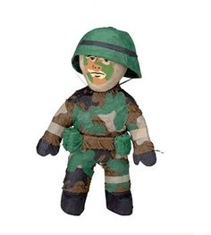 Army Military Man Pinata - Boys Camo Birthday Party Supplies | eBay