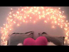 DIY Glowing Headboard: Great For Little Girls Or Even Teens!!