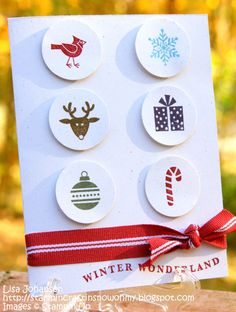 Snowy Moose Creations: Christmas Circles