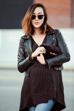 Sleek City in Black - The Chriselle Factor
